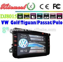 8 inch car gps for skoda/vw/seat with 3D Rotating UI PIP GPS BT TV IPOD RADIO 3G etc DJ8015