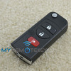 Discount product remote key 3button for Nissan remote flip car key