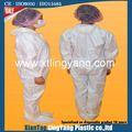 desgaste de los niños buena función de protección bata desechable
