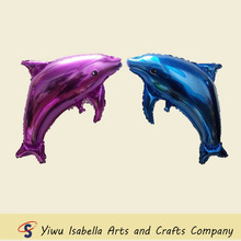Provide mini helium balloons .CE approved ,Dolphin shaped