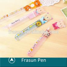 Fancy Design Hair Brush Comb Shape Gift Prize Cute Custom Logo Pen