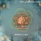handmade silk fabric brooch flower BF0401