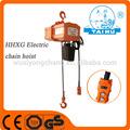 Palan électrique à chaîne 0.5t/3 moteur triphasé électrique de levage de levage/g80 palan électrique à chaîne