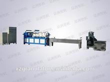 2015 hot plastic recycling granule making machine/plastic film granules machinery