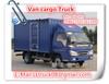 4*2 dongfeng van van truck, 10t cooling van truck,caravan trailer for sale