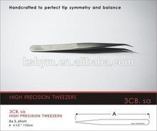 Anti-static plastic tweezers/Conductive fiber plastic cheap smart heated tweezers