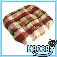 2014 New Pet Products Colorful Lattice Round Corner Luxury Designer Pet Dog Beds