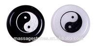 Yinyang Amulet symbol Engraved Stones Palm Stone