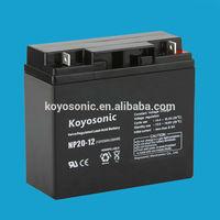 High quality UPS battery 20ah Sealed Lead Acid Battery NP20-12