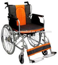 2016 Hot sale manual wheel chairs with wheelchair hub