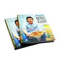 2015 Hot sell hardcover book/ cook book/ menu book printing
