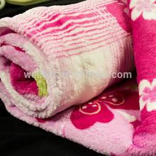 printed shu velveteen blanket