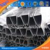 Hot! OEM sepcial wardrobe aluminium exrtudion 6063-t5, structual natural anodized triangle aluminium profile