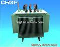 S11 6 KV - 33kv Potencia sumergidos en aceite transformador de distribución de la subestación