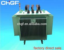 S11 6 KV - 33kv Oil Immersed power substation distribution transformer