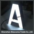 luce anteriore pubblicità acrilico led 3d lettera commerciale