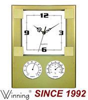 Plastic Decorative Weather Station Wall Clock