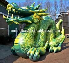 NB-CT3044 NingBang PVC folded inflatable dragon for trade shows