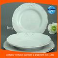 Conjunto de louça arábica/prato, 10.5 polegadas branco placas de jantar