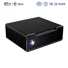 Slap-up Horizontal Mid Tower Mini ITX Computer Case/Aluminum Mini ITX Gaming Case/Mini ITX HTPC Computer Case , Desktop E-K5i