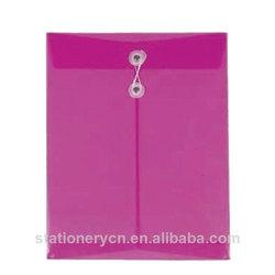 Eco-friendly zipper document bag a4 envelope folder document envelope