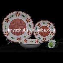 Very good-looking tableware looks like arts and craft