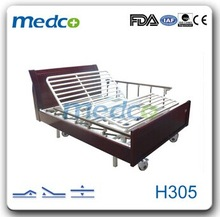 King size electric luxury wooden bed used at home H305