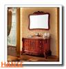 economic marble sink bathroom vanity / high quality classic carving bathroom vanity