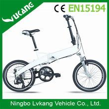 bicycle taxi Popular Foldable Electric Bikes with basket and Bag ebike e bike e-bike