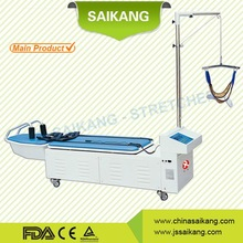hot!multifunctional lumber and cervical traction bed