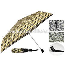 High quality Auto open and close 6k 3 folding umbrella