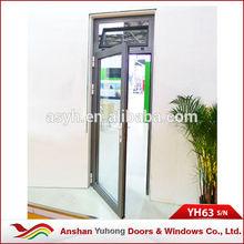 good quality residential Aluminum profile Exterior Single door