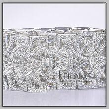 Crystal rhinestone metal belts