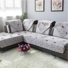 Top grade new design cloth fabric zhejiang anti-slip quilting sofa cover fashion sofa set covers