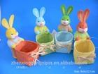 wholesale rabbit basket candy basekt paper easter rabbit basket