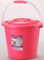 grau alimentício baldes de plástico com tampa