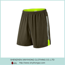 Dry Fit Top Quality Mens Polyester Sports Shorts In Coffee