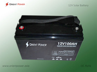 Solar Dry Cell Battery 12V120AH Solar Deep Cycle Battery With Cheap Price