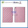 2014 colorful function leather case for ipad mini wallet cover case
