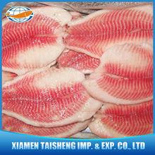 Red Meat Frozen Tilapia Fillet