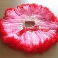 Nova 2014 childrenevening rosa vestido tutu/saia