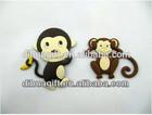 wholesale custom no limit 3d animal fridge magnets,soft pvc material
