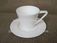 Top grade espresso reusable coffee cup and saucer
