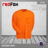 plain orange mens good quality pique fabric polo t-shirt