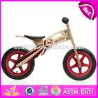 2014 New and popular wooden kid bike toys wooden toys,latest modern wooden kid bike,hot sale balance wooden kid bike W16C083