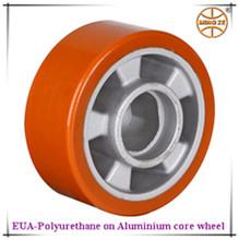Hand truck wheels,PU on aluminium core wheels