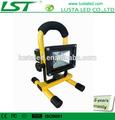 Led rechargeable lampe à la main, li-ion batterie 7.4v, 2200 mah., sans fil rechargeable lampe à led