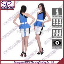 Del cordón del estiramiento vestido, Cosméticos naturales, Sexy girls mini vestido