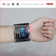 Physical painless laser therapy equipment medical wrist watch cold laser therapy