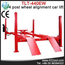 Launch TLT440EW 220V 4 tons 4 post lift used cars car hoist lift